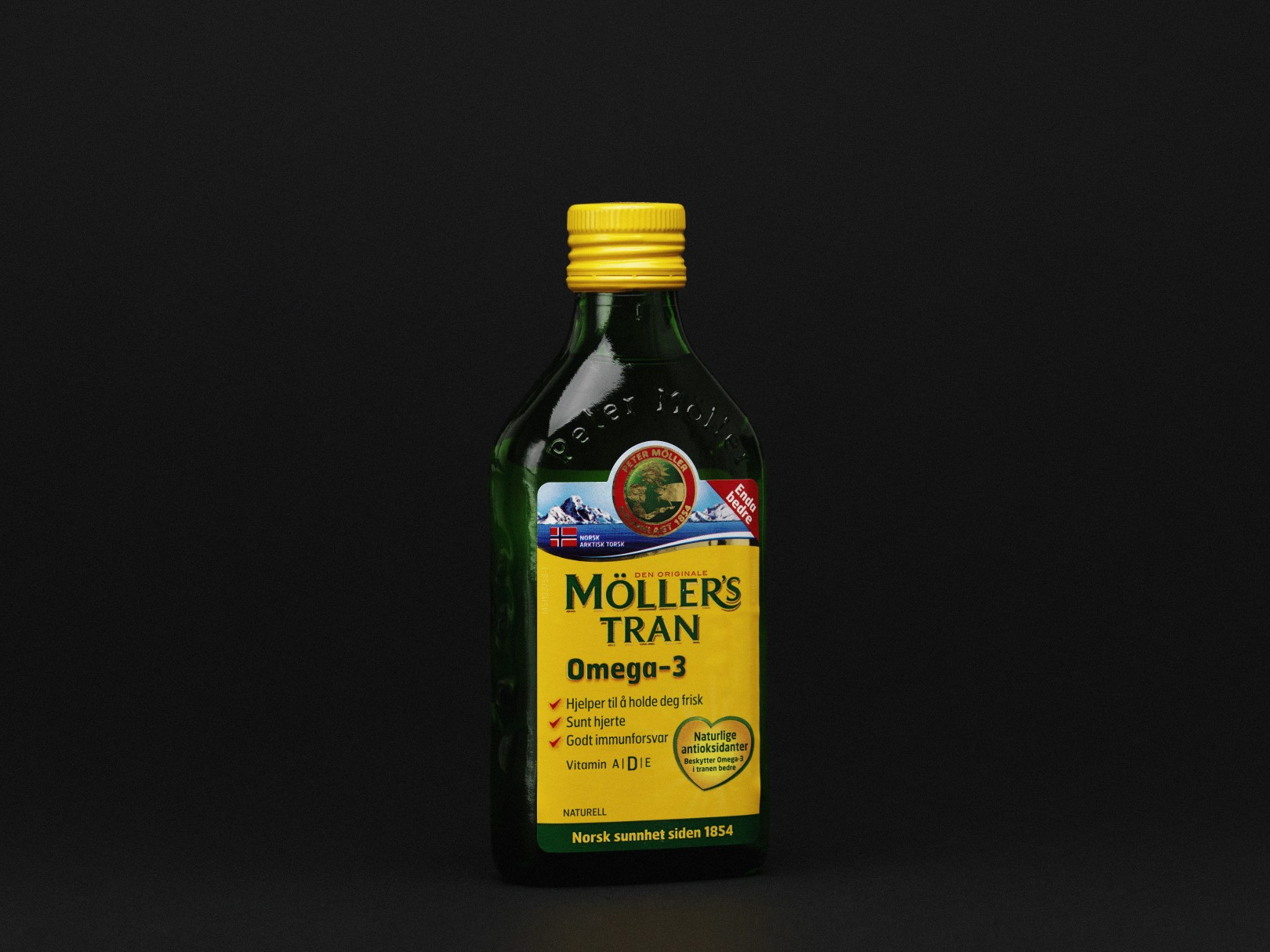 Redesign of Möllers Glass Bottle for Axellus